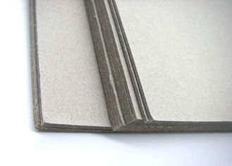 China Recycled 700X1000mm 800gsm Grey Board Paper Laminated With MSDS supplier
