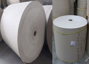 China High Cost Performance 300gsm / 0.49mm foldable Grey Paper Rolls Anti-Curl supplier