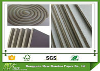 China Mixed Pulp Unbleached Laminated Grey Board for Stationery / Mosquito Coil factory