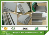 China Eco friendly Offset Printing Laminated Paper Grey Board For NoteBook Cover factory