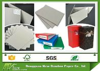 China Grade AA Full Grey Paper Board Rigid Boxes Cardboard Sheets , MSDS factory