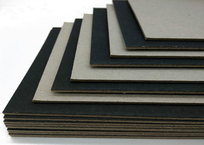 Mixed pulp high stiff black card one side laminated