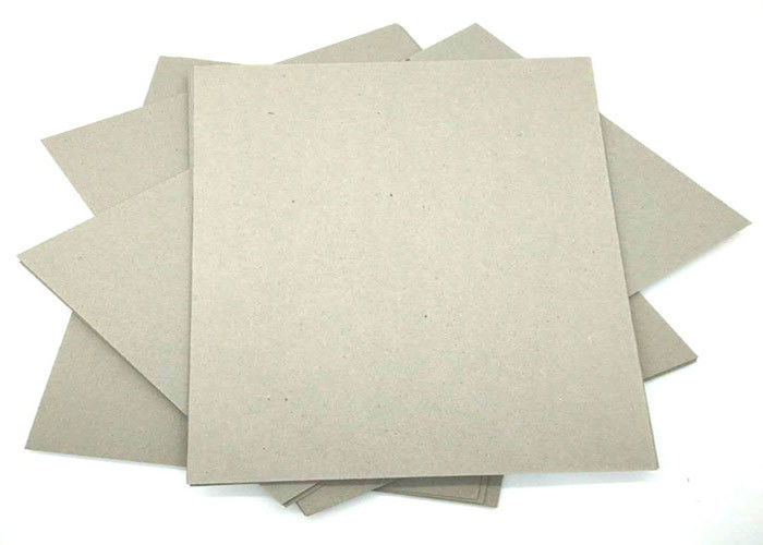 2 Mm 1250gsm Thick Paper Grey Cardboard Sheets Professional Grade A