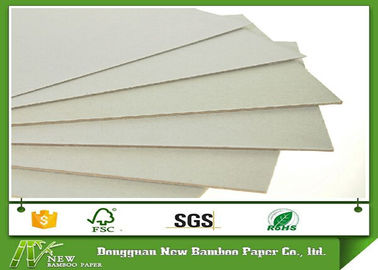 Anti-Curl Double Side Grey Hard Board Paper for furniture / book cover