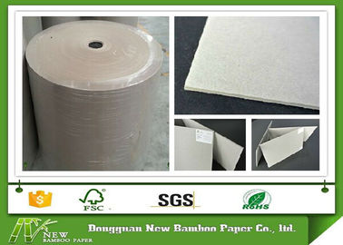 Anti-Curl Matte from 300gsm to 650gsm Grey Paper Roll for Offset Printing