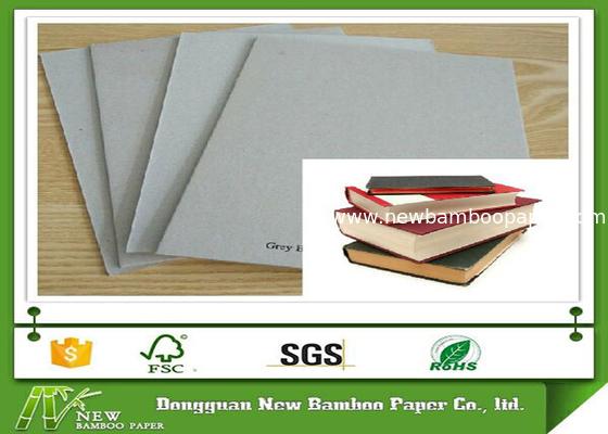 Hard Stiffness 1200gsm Book Binding Board Laminated Grey Cardboard