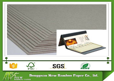Thickness laminated 3.4mm 2150gsm grey cardboard for desk calendar