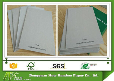 China paper mill Grey Book Binding Board / recycled paper pulp for macking arch file