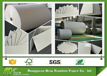 Lamination two side Gray Paper Roll Anti Curl 400gsm / 0.66mm