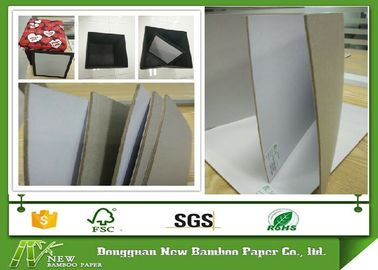 Rigid Grey Back 3mm Duplex Paper Board Book Cover Gray Paperboard Recyclable