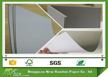 Recycled AA Grade Coated Duplex Paper Board With Grey Back Good Stiffness