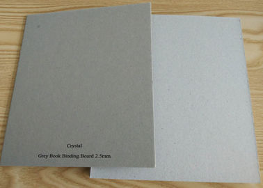 Recycled Stiffness Paper Hard 1250gsm Solid Grey Paperboard for Matte Book Cover