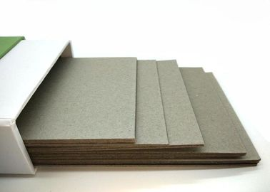 China Gray Paperboard High density recycled Grey Chipboard For package box factory