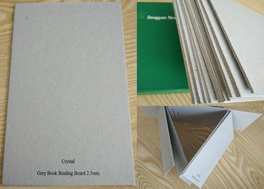 China Unbleached Grade AA Full Grey Book Binding Board for Hardcover / Desk Calendar factory