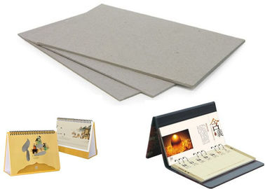 Folder cover / Desk calendar used Grey Board Sheets Carton Gris 5mm - 0.49mm