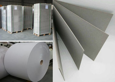 China Recycled Material Hard Stiff 1000gsm Grey Paper board in Sheet or Reel factory