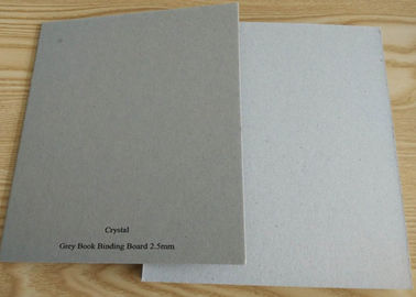 China Anti-Curl Grade AA matte Grey Book Binding Board for Book Cover factory