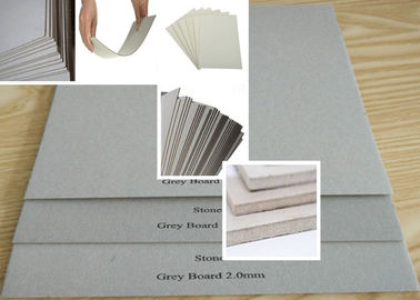 China Strong stiffness Grey Chip Board for making Refugees House / bookcover factory