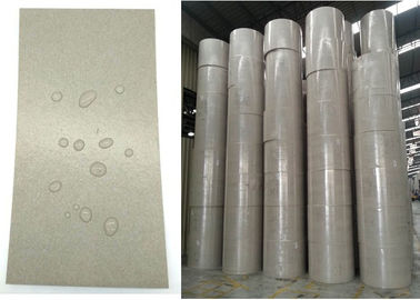 China 100% Recycled  Glossy and flat Waterproof PE Coated Grey Paper Board in Roll factory