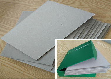 China 2.5mm Book Binding Cover , Mixed Pulp Strong Stiffness Grey Board Paper factory