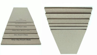 China Stocklot Matte Paper 1.5mm Grey Sheet Cardboard Book Boards For Binding factory