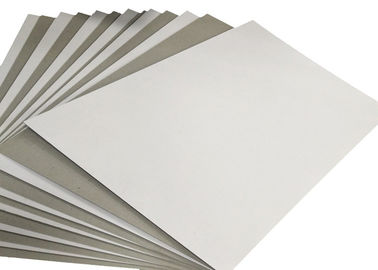 Recycled Mixed Pulp Grey Back Coated Duplex Board Sheet or Reel
