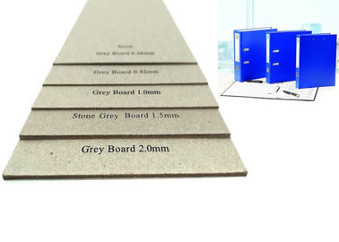 China 1000g Economic and Laminated Uncoated Grey Cardboard Sheets for Folder factory