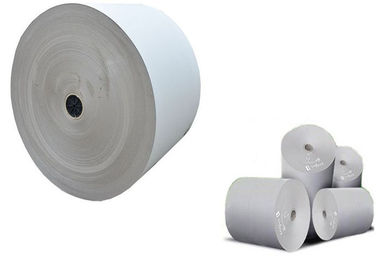 China Paper in Reel 600 - 1400 gsm Grey Paper Roll Thickness Gray Board Paper factory