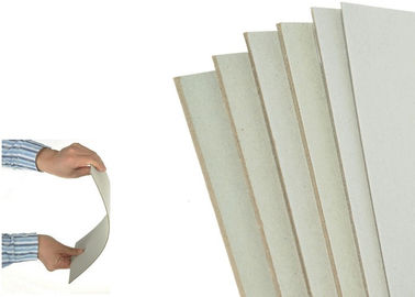 China 2mm 1200 Gsm Thickness Gray Paperboard Stocklot Stiff Cardboard Paper Sheets factory