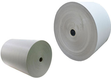 China 300gsm - 650gsm Roll Of Gray Paper Cardboard Roll For Waste Paper Reuse factory