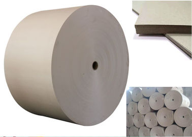 China Uncoated Carton Gray Paper Roll / Cardboard Sheets For Laminated Paper Board factory
